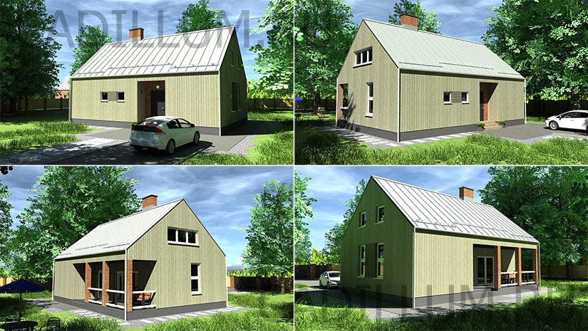 Серия ЧД-008 Большой дом
