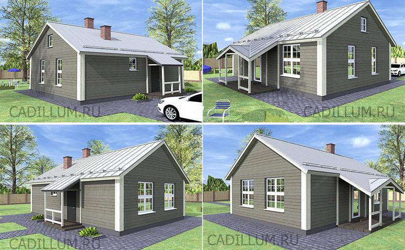 Серия ЧД-003 Компактный дом