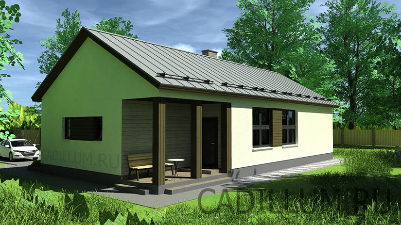 Проект дома 2